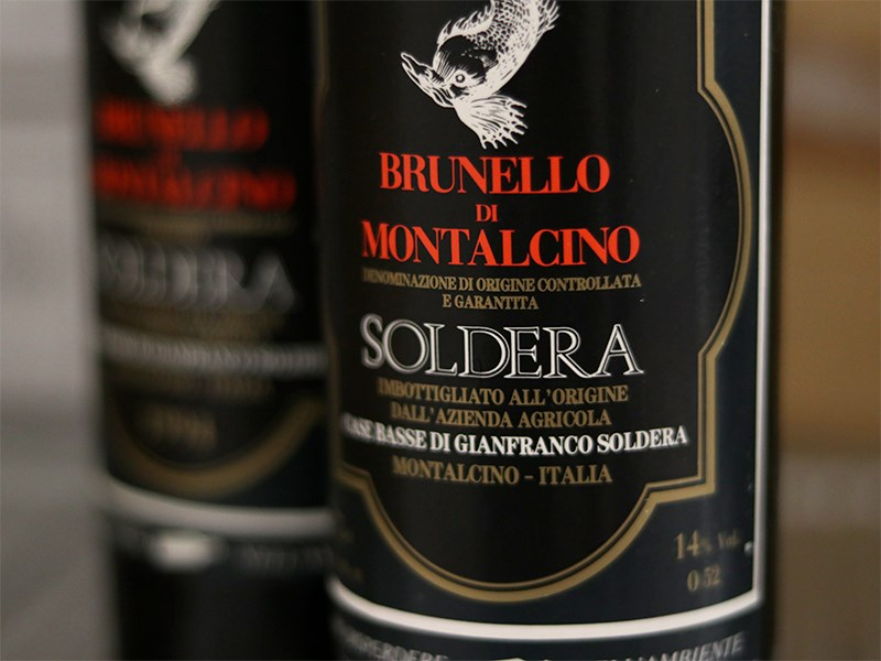 Invest in Soldera Brunello