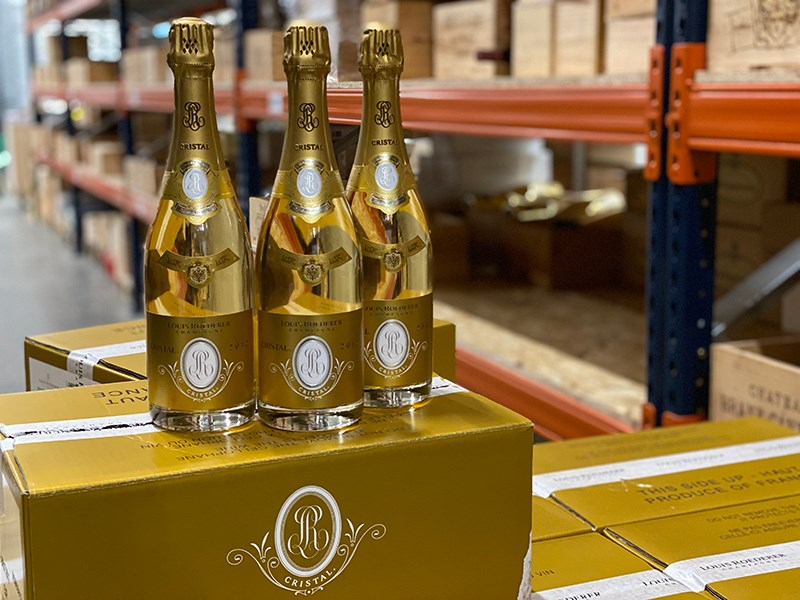 Invest in 2012 Cristal of Louis Roederer