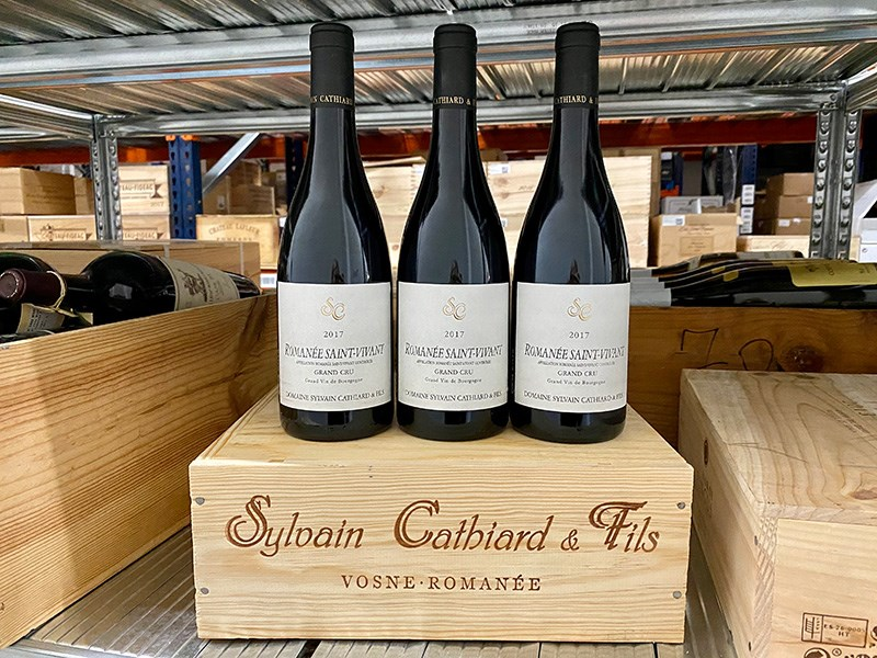 Investment in Cathiard Romanée Saint-Vivant